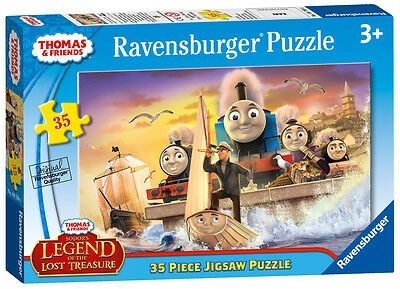 08768 Ravensburger Thomas & Friends 35pc [Children's Jigsaw Puzzle] New in Box!