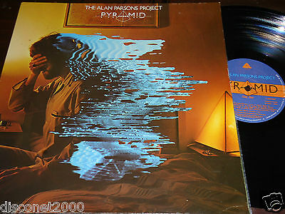 "THE ALAN PARSONS PROJECT - Pyramid, LP 12"" SPAIN 1980 GATEFOLD"