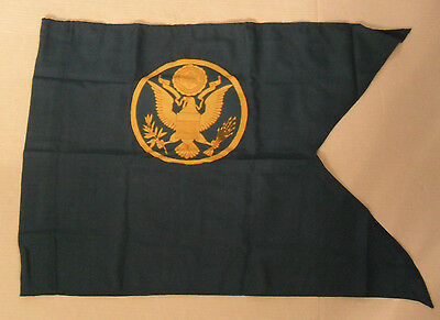 """Us Army Giudon Has Assigned Insignia On It 1'  8"""" X 23 3/4"""" Mint Has Army Label"""