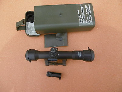 Zeiss Hensoldt  Scope ZF 4x24 Z 24 included STANAG- mounting with lighting unit