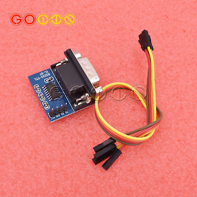 Male MAX3232 RS232 to TTL Serial Port Converter Module DB9 Connector MAX232