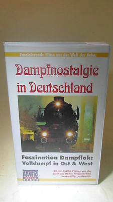 +17 Video VHS Dampfnostalgie in Deutschland