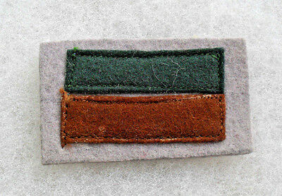Wwii Australian Formation Patch 6Th Inf Div 7Th Inf Bn 2 Piece Felt On Felt