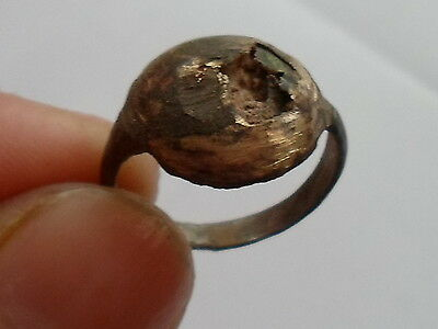 2000-1000 B.C stone with bronze ring. intresting for ARCHAEOLOGISTS.