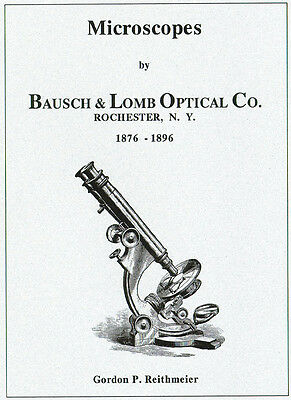 Microscopes by Bausch & Lomb 1876-1896