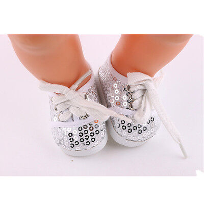 1set Doll cowboy shoes for 43cm Baby Born zapf (only sell clothes ) B912