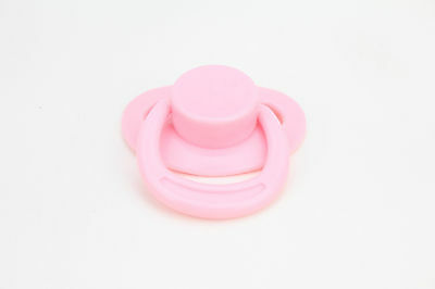 New Dummy Pacifier For Reborn Baby Dolls With Internal Magnetic Pink