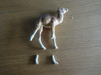 Beswick  Camel standing 4 3/4 inches high restoration
