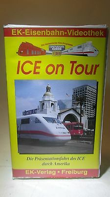 +42 5120 Video VHS ICE on Tour Präsentationsfahrt durch Amerika