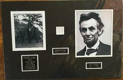Abraham Lincoln- Strand of His Hair Matted