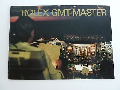 Rolex GMT Master Booklet - deutsch von 1-2000