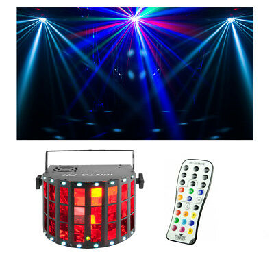 Chauvet DJ Lighting Kinta FX Derby Laser Strobe Effect Light w/ Remote Control