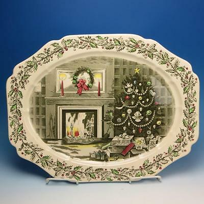 Johnson Bros - Merry Christmas - Large Turkey Platter - 20 by 15½