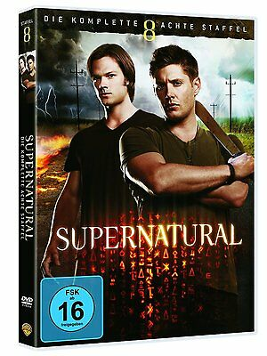 6 DVD-Box ° Supernatural - Staffel 8 ° NEU & OVP
