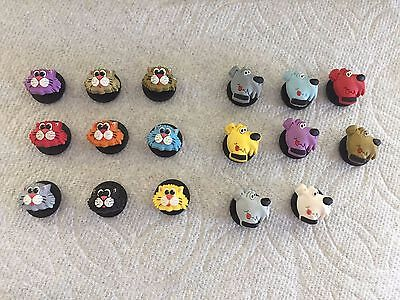 Cat Jibbitz Cat Shoe Charms Fits Crocs Dog Jibbitz Dog Shoe Charms Cat & Dog