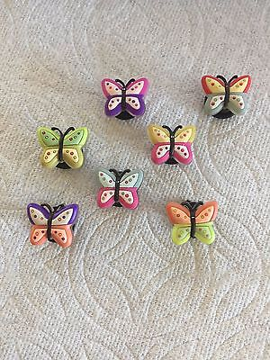 Butterfly Jibbitz Butterfly Shoe Charms Fits Crocs Butterfly Clog Charms