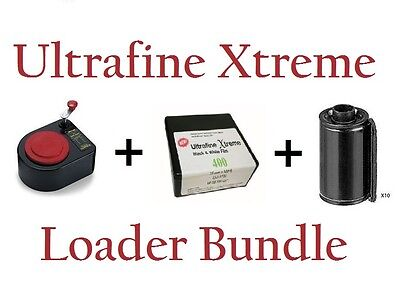 Ultrafine Xtreme 400 Film 35mm x 100' Combo with Lloyd Loader and Cartridges