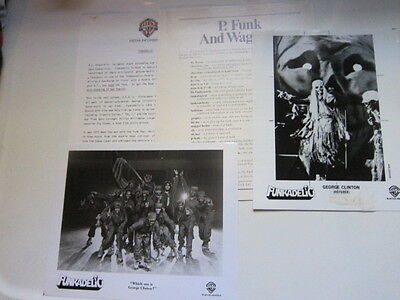 FUNKADELIC Press Kit 2 photos 9 pgs