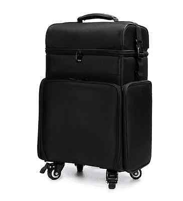 Nylon Makeup Beauty Cosmetic Trolley Case Organizer Hairdresser Makeup Nail 849S
