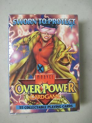 Sealed Marvel Overpower Card Game Sworn To Protect X-Men Jubilee 1995