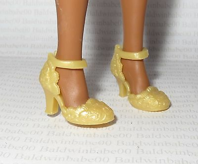 * Shoes ~ Collector Curvy Mattel Barbie Doll Madam Lavinia Mary Jane High Heels
