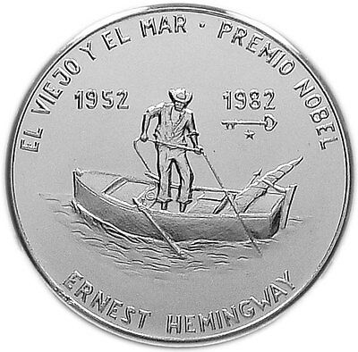 1 PESO 1982 BU ERNEST HEMINGWAY - The Old Man and the Sea