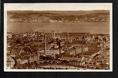 Dundee and the Hills of Fife - real photographic postcard