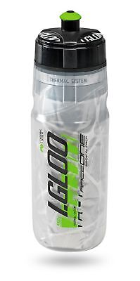 Raceone Thermotrinkflasche 550 ml Sportflasche Thermo Trinkflasche isoliert