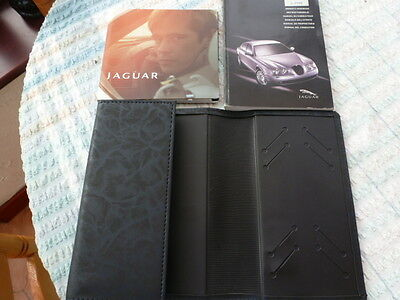 Jaguar Late S Type Hand Book Pack And Wallet