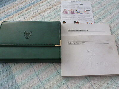 Jaguar Early X Type Hand Book Pack And Wallet