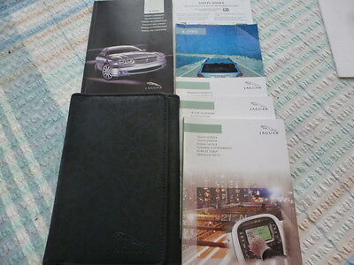 Jaguar Later Style X Type Hand Book Pack And Wallet