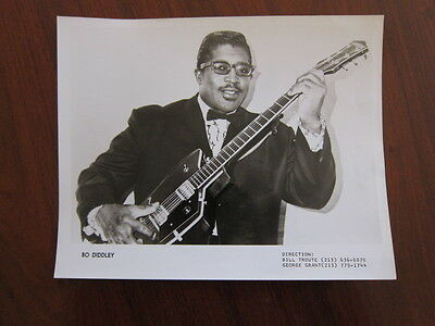 BO DIDDLEY 8x10 photo a