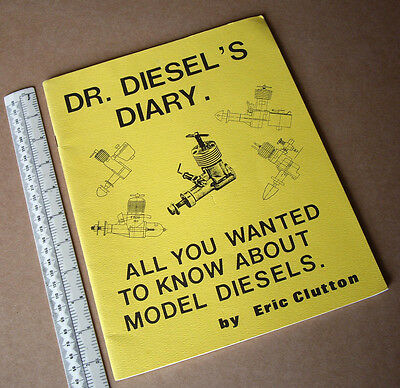 1980s Desktop Published Know-How Book Dr. Diesel's Diary by Eric Clutton USA