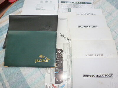 Jaguar Xj40 3.2 And 4.0 Xj6 Sovereign V12 Book Pack And Wallets