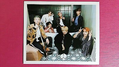 BTS GROUP Official POLAROID Photocard WINGS 2nd Album Photo Card Bangtan Boys 방탄
