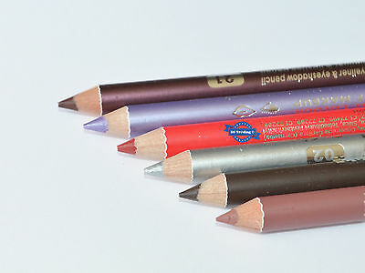 Davis Waterproof 2-in-1 Duo Lip And Eye Liner Pencil 22 Shades Available