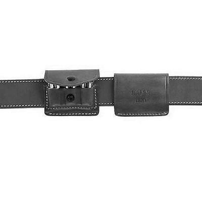 """Galco 2X357B Black 2X2X2 Leather Ammo Carrier Pouch S&W J-Frame 2"""" BBL"""