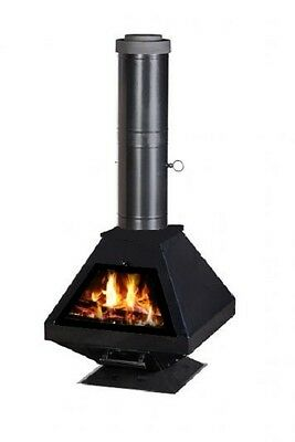 EXCELENT POELE A BOIS TAIFUN LUXURY -  21kW - NEUF- FABRICANT