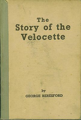 The Story of the Velocette LE Beresford Vintage Motorcycle Book Guide