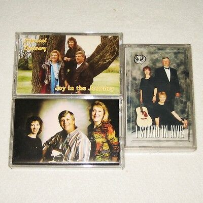 Lot of 3 Cassettes by SPECIAL DELIVERY  rare collection of Christian Music tapes