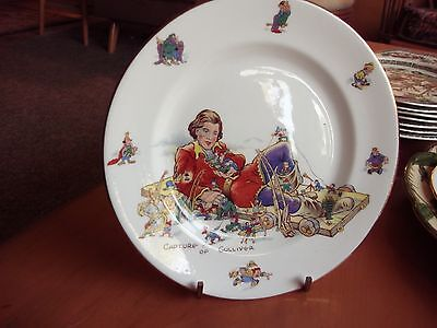 Hammersley childrens dishes 1939 Gulliver's Travels