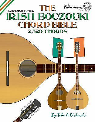 Irish Bouzouki Gdad Chord Bible 2,520 Chords