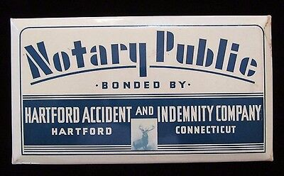 Hartford Accident & Indemnity Notary Public Sign