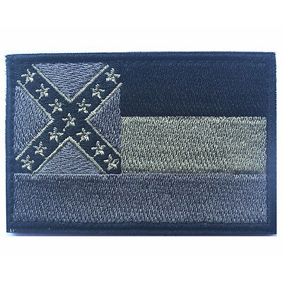 USA Mississippi MS STATE FLAG U.S. ARMY MORALE BADGE TACTICAL HOOK LOOP PATCH #3