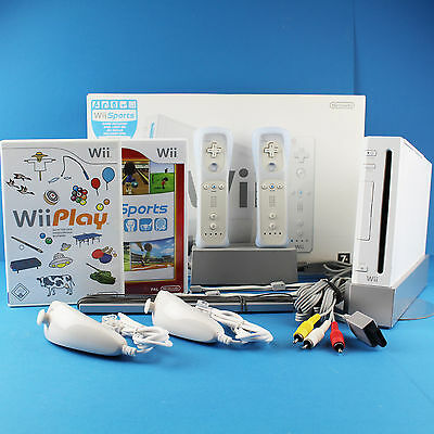 ORIGINAL NINTENDO WII KONSOLE OVP► Remote Nunchuck ►Wii Sports - Play