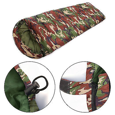 3 / 4 Season Waterproof Outdoor Camping Hiking Case Envelope Single Sleeping Bag
