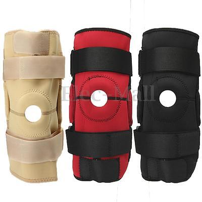 Hinged Knee Brace Wrap Patella Compression Support Pain Relief Neoprene Sport