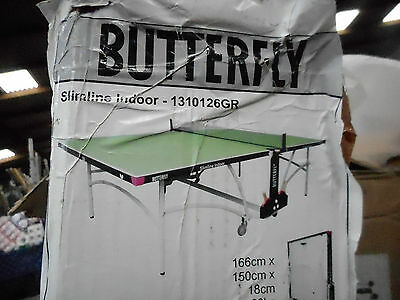 NEW Butterfly slimline indoor table tennis table BNIB