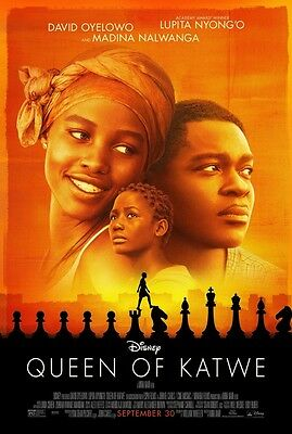 Queen of Katwe - original DS movie poster  D/S 27x40 Final