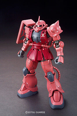 Bandai High Grade Hg 1/144 Mobile Suit Gundam Origin Ms-06S Zaku Ii Nuovo New